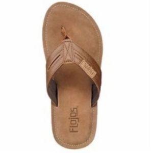 ca51cab5b09a0d Flojos Shoes - Flojos Alonzo Cognac (Brown) Men s Flip Flop
